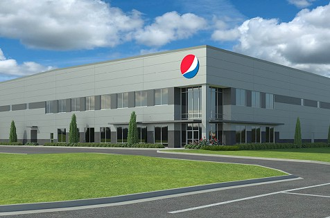 Lakeside Pepsi Begins Construction on New Distribution Facility