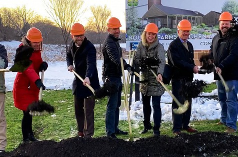 Farm-To-Table Nonprofit Nourish Farms Breaks Ground On a Community Kitchen Addition at the Miley Barn