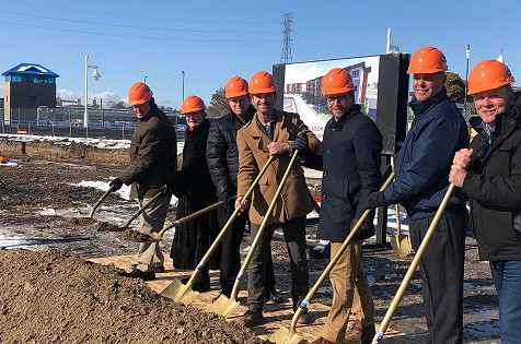 Construction Begins on South Pier Riverfront Luxury Condo