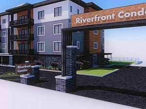 South Pier Riverfont Condos Front